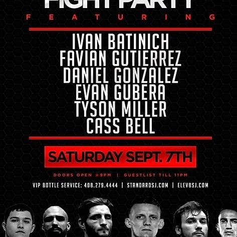After Fight Party