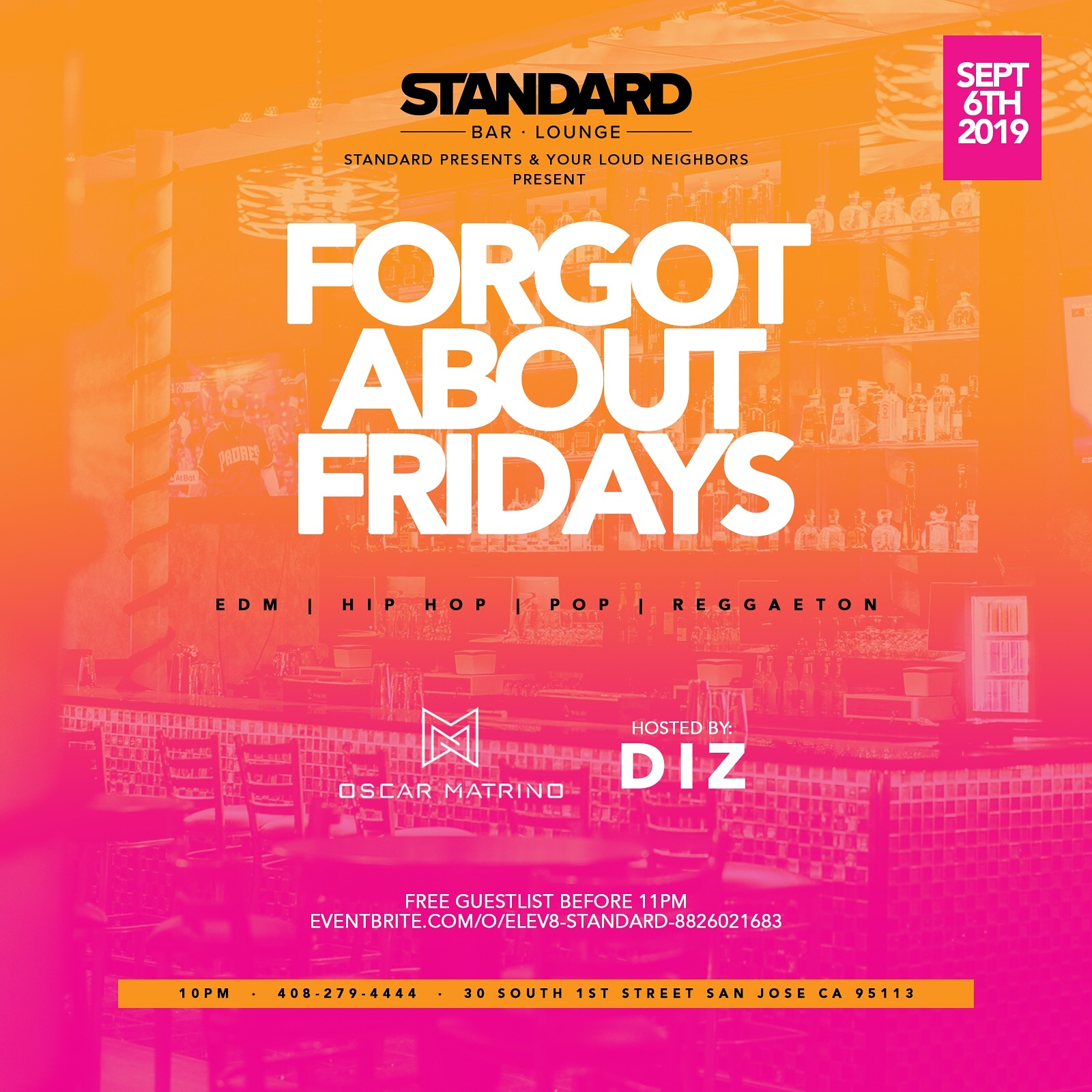 Forget About Fridays Sept 7.19